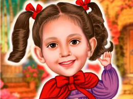Draw a caricature or cartoon for a personalized gift