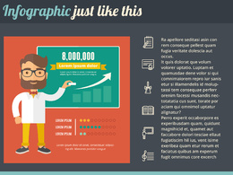 Create an Infographic in this style
