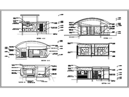 Provide detailed house plan drafted in Autocad