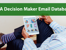 Provide 100K+ USA Decision makers B2B email list for your email campaign