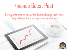 Guest Post on UK Loans and Finance Web Site - DA 24