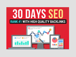 Rank you website FIRST PAGE on Google 30 Days Seo Backlinks
