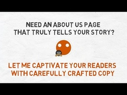 Write an 'About Us' page
