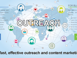 Use my existing database of bloggers to outreach and publish your content