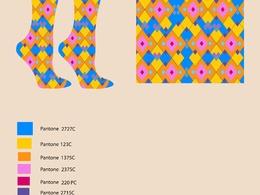 Create beautiful socks design