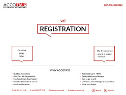 Register your Business for VAT - VAT Registration
