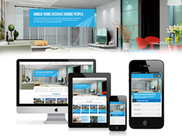Develop & Design Responsive website With Professional HTML5+CSS3