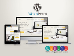 Develop & Design  Professional & Responsive WordPress website