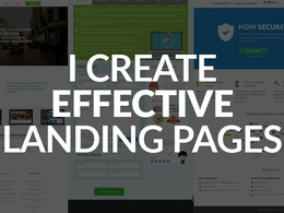 Create a landing page which increases conversions