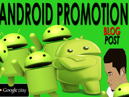 Promote ANDROID App on My Website