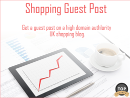Guest Post on UK Shopping Blog
