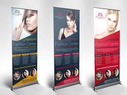 Design you a Roll-up Banner
