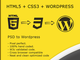 Convert PSD Design into Fully Functional Respons Wordpress theme