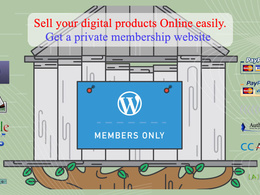 Create secure mulitlevel membership website with automation