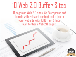 Create 10 Web 2.0 Pages with 1000 Tier 2 Links