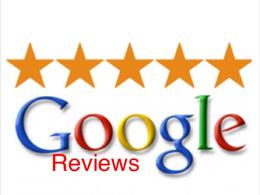 Add five genuine 5 stars Google reviews