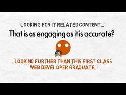 Write an engaging IT related article - any subject, any style