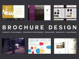 Design & produce a luxury professional  brochure / catalogue / leaflet / look book