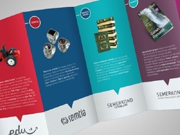 Design a catchy brochure/flyer to promote your business