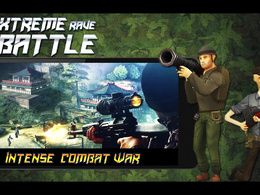 """Unity 3D Action Owesome War Game""""Extreme Rave Battle"""" FPS Game"""