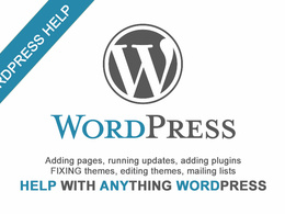 Offer 1hr of wordpress support, updates, customisation etc.