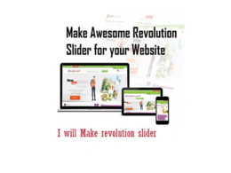 Make revolution slider