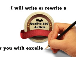 Write a high-quality, conversational & engaging 500 word SEO article or blog post