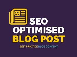 Write a 500 word SEO optimised blog post to your topic