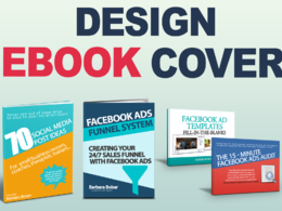 Design a professional, eye catching eBook cover