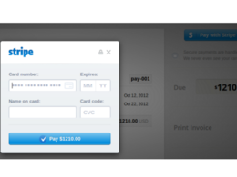Add stripe payment gateway to your website