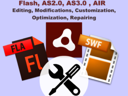 Edit and customize your Flash AS 2.0 , AS 3.0 and AIR applications