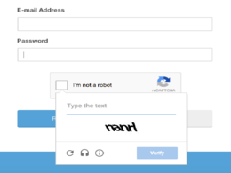 Add Google recaptcha in your website form