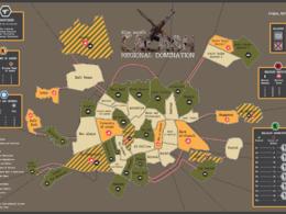 Create a map illustration