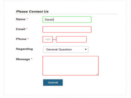 Add a PHP MYSQL AJAX BOOTSTRAP Contact Us/Feedback/Inquiry/Quote form to your website