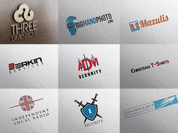 Design bespoke logo + unlimited revision
