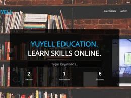 Develop an e-learning portal / learning management system using wordpress
