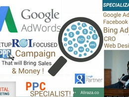 Do Google Adwords Management and Campaign Setup for NGO's.