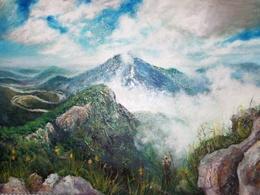 Acrylic/Oil painting 30x40cm