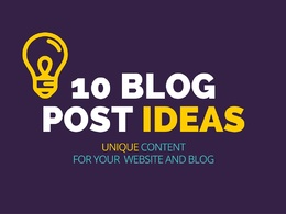 Create 10 blog post ideas with angle and description of key features