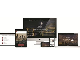 Design web template - landing page psd