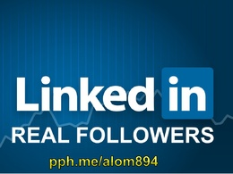 Provide 2000 followers for your Linkedin company page increase your SMM and traffic