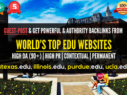 Make GUEST POST on DA90+ EDU Websites to boost your SEO [High PR, Contextual]