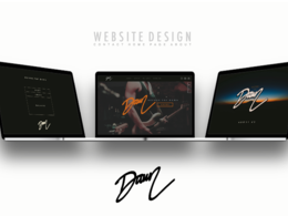 Create a EPS mockup for a modern website design to boost business &identity