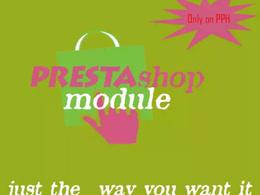 Create custom prestashop module