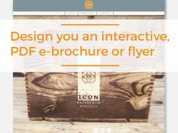 Design you an interactive E-Brochure or E-Flyer