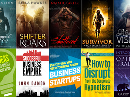 Do Book Cover Design or eBook Cover or Kindle Cover With Bonus