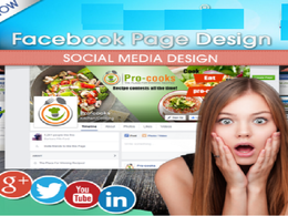 Make Facebook Page Cover design with professional look
