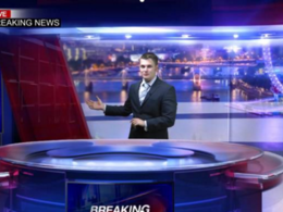 Record a Breaking News VIDEO Commercial