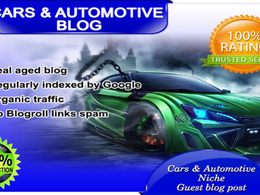 Publish Your Content Guest Post on my CARS Blog