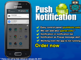 Add push notification to your android app